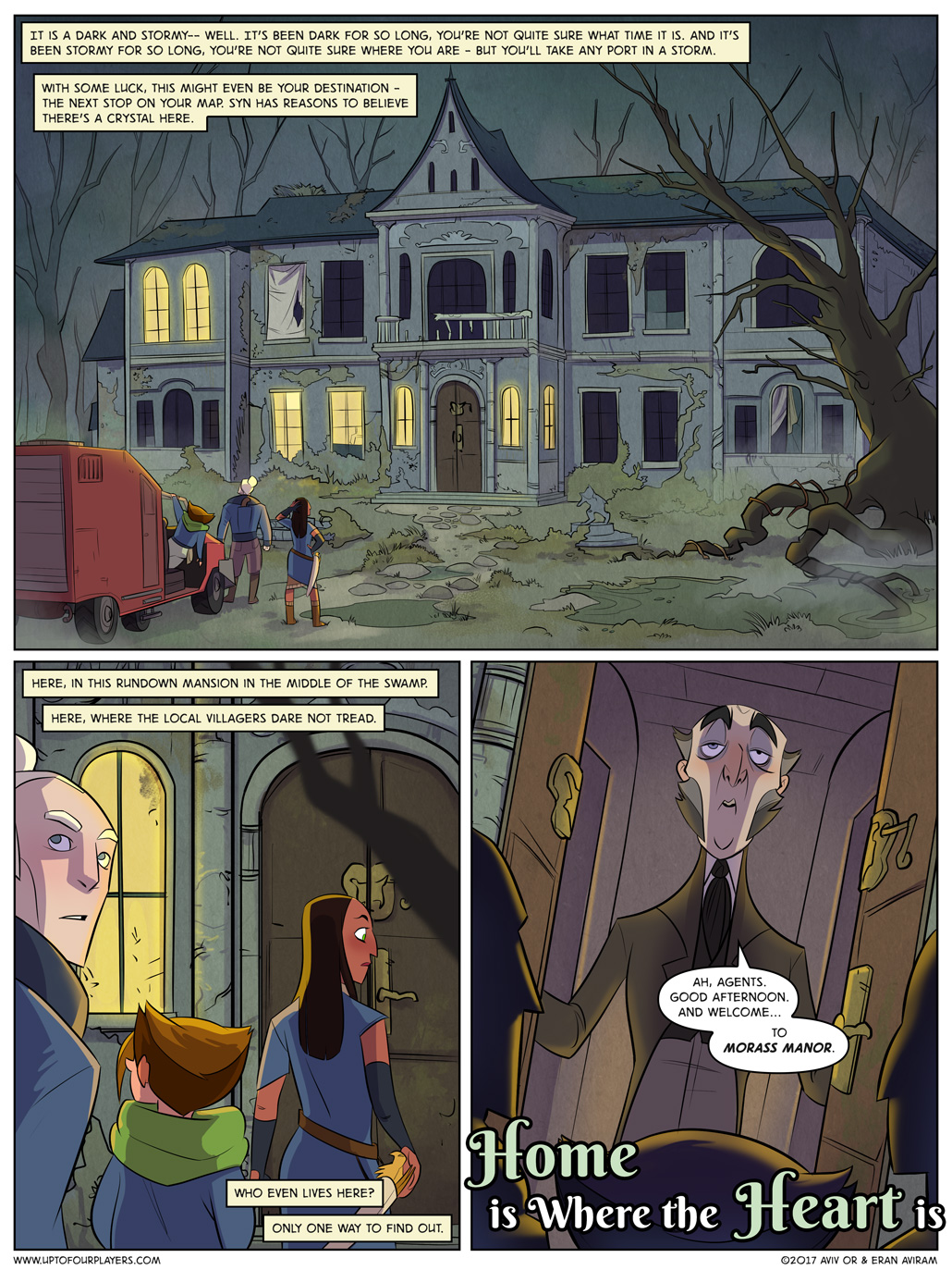 Home is Where the Heart is – Page 1