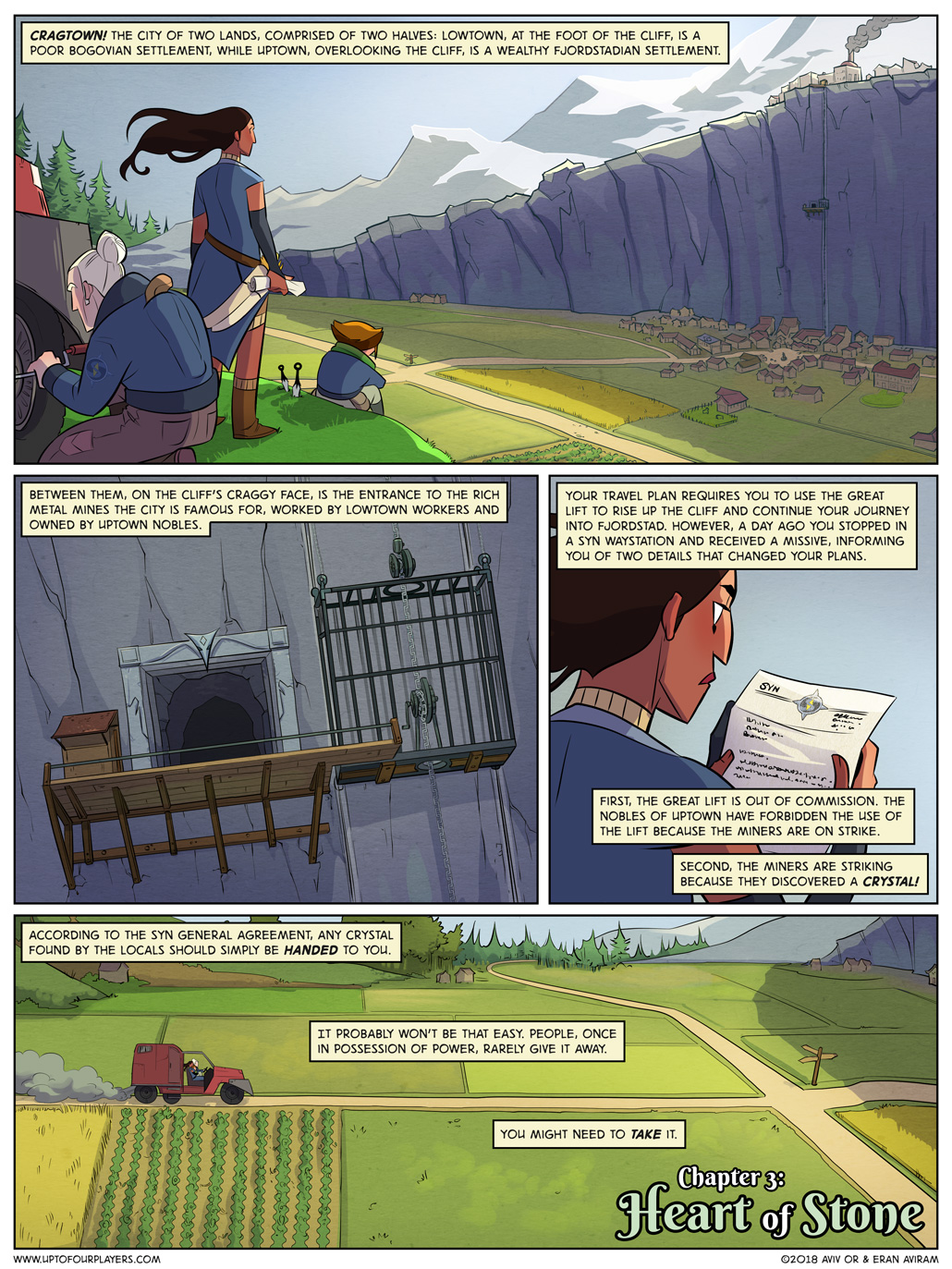 Heart of Stone – Page 1