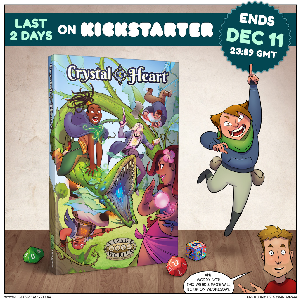 Crystal Heart on Kickstarter – Final Hours