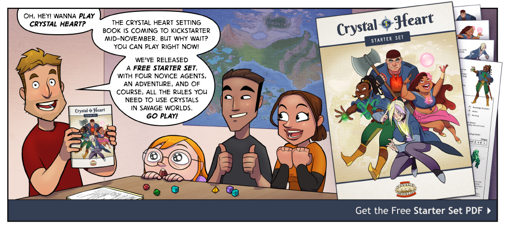 Download the Crystal Heart Starter Set