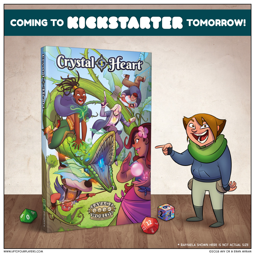 The Crystal Heart RPG is nearly here!