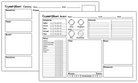 Agent and Crystal Sheets