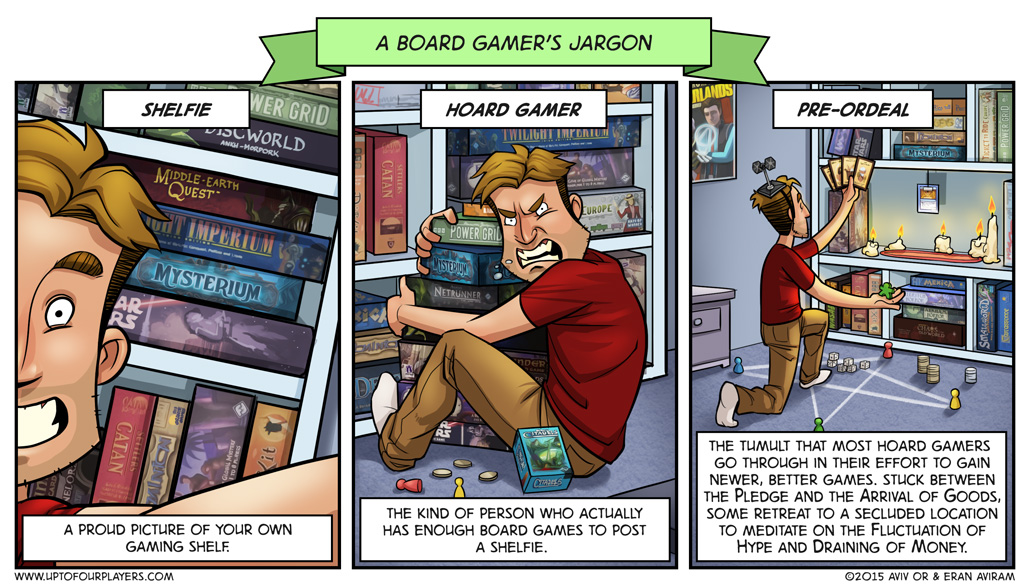 A Board Gamer's Jargon