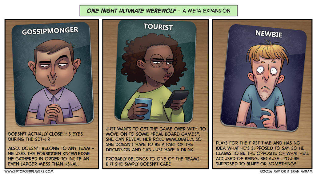 One Night Ultimate Werewolf – A Meta Expansion