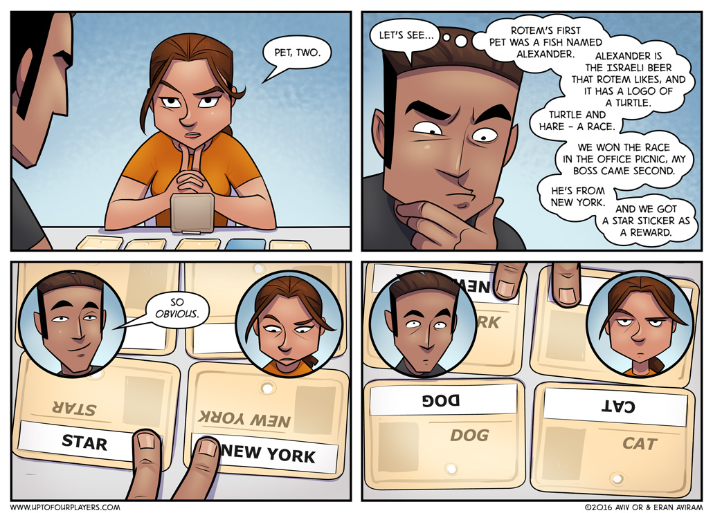 Codenames - It's so obvious.